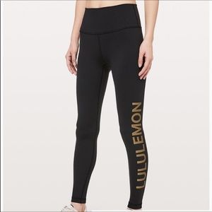 Lululemon Wunder Under high rise tights 20y Ed